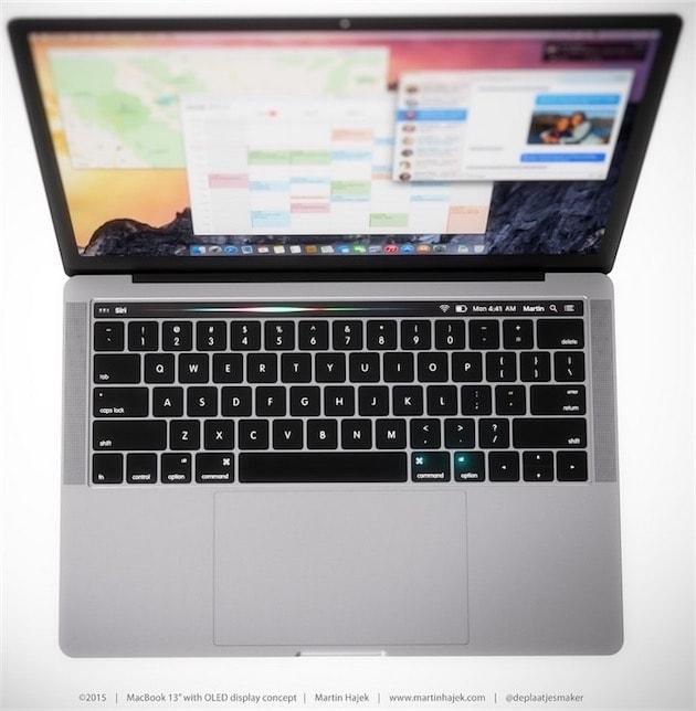 mac  macbook pro ruban oled touch id et gpu polaris quasiment confirmes