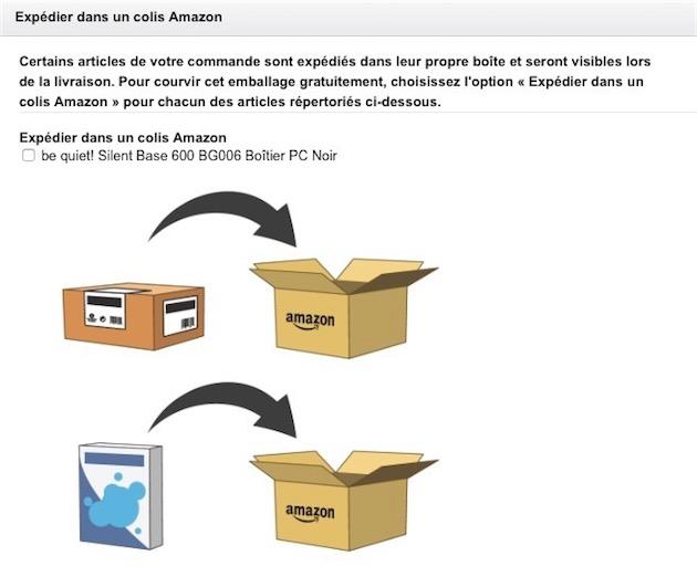 Amazon Peut Cacher Le Contenu De Vos Commandes A La
