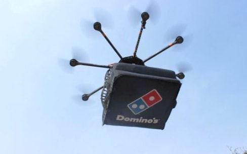 la livraison par drones de domino 39 s pizza ne devrait pas d coller en france macgeneration. Black Bedroom Furniture Sets. Home Design Ideas