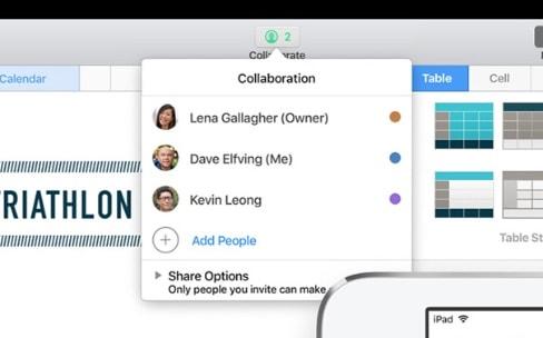 iWork: le travail collaboratif en temps réel «bientôt disponible»en bêta