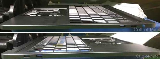 Au mois de juin, des photos de chassis étaient sorties et on voyait distinctement la prise jack, en plus de quatre ports USBC.