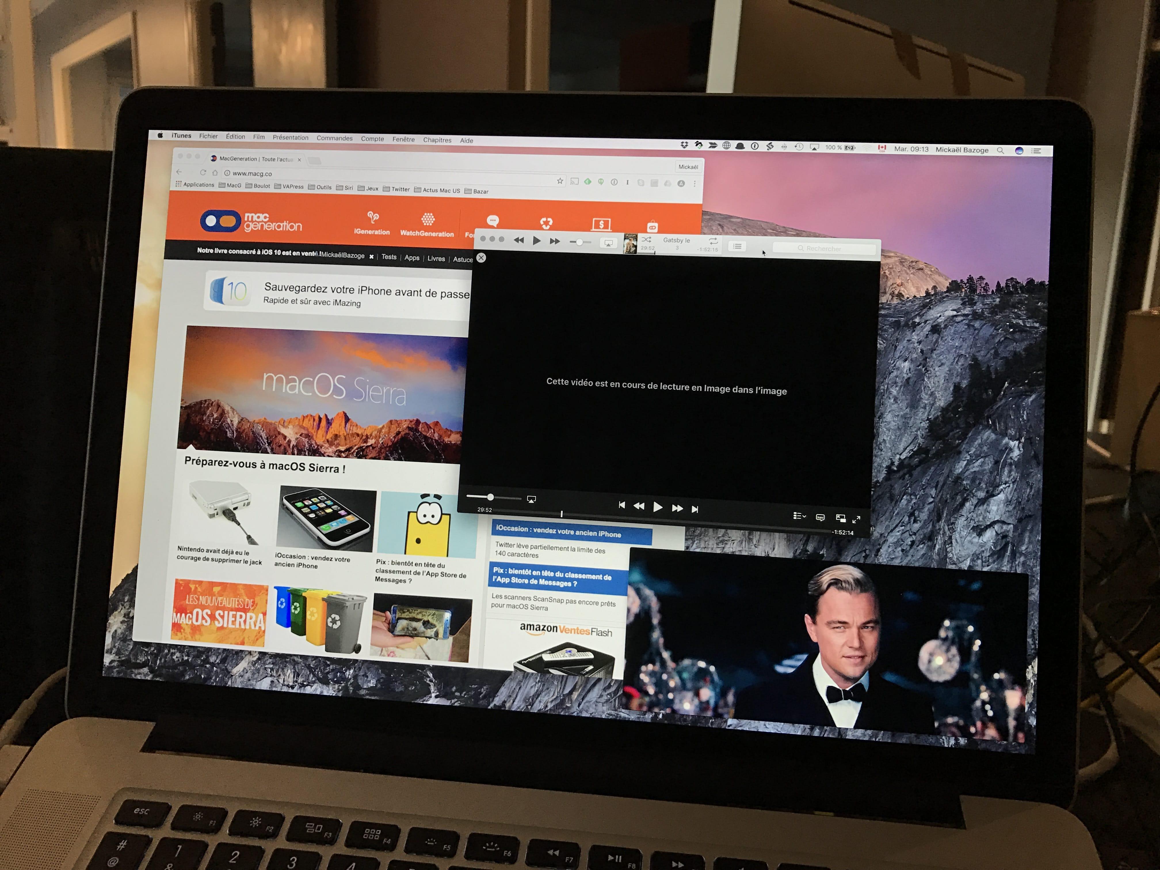 Macos sierra dix nouveaut s d couvrir ab technologies for Reduire fenetre mac