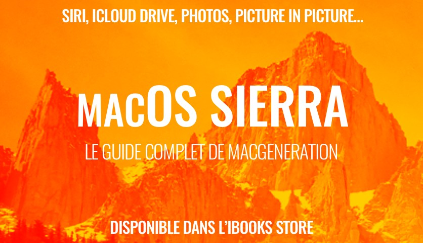 Les nouveautés de macOS Sierra