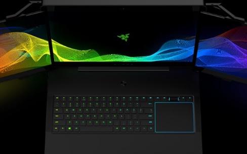 """""""Project Valerie"""", le PC portable de Razer aux trois écrans4K"""