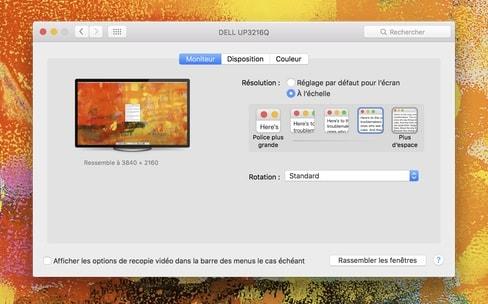 Pourquoi et comment utiliser un écran 4K sur Mac?