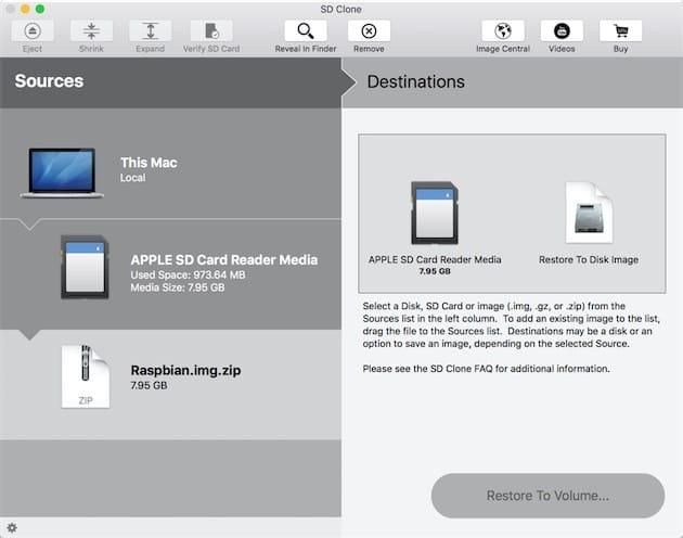 cloner carte sd raspberry SD Clone 3, un utilitaire pour cloner des cartes SD et bien plus