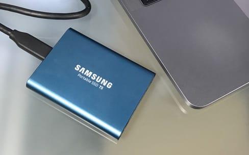 Test du Samsung T5 500 Go, un mini SSD externe
