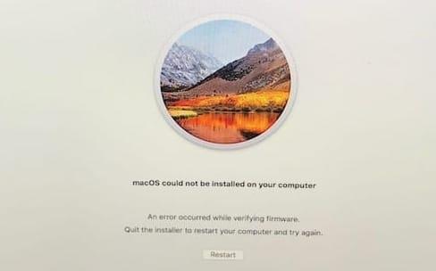 """macOS 10.13 """"supplemental"""" améliore aussi la fiabilité de l'installation de High Sierra"""
