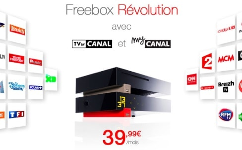 Free pousse toujours plus son offre combinée avec Canal Panorama