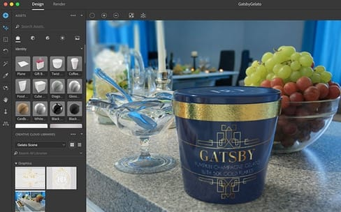 Adobe XD et Adobe Dimension : pour les interfaces et le design 3D