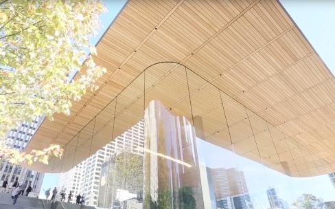 L'Apple Store de Chicago en vidéo