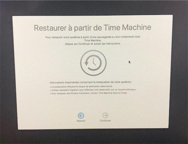 Apfs Restaurer Son Mac A Un Etat Anterieur Avec Un Instantane