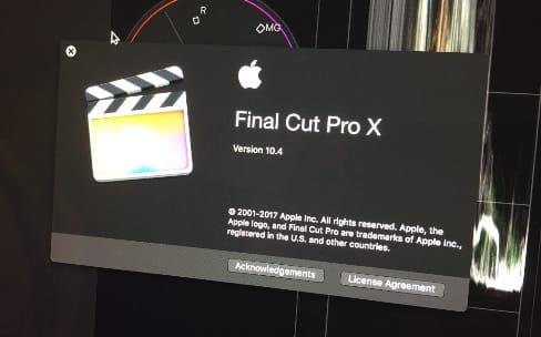 Final Cut Pro X : la future version 10.4 a été présentée par Apple