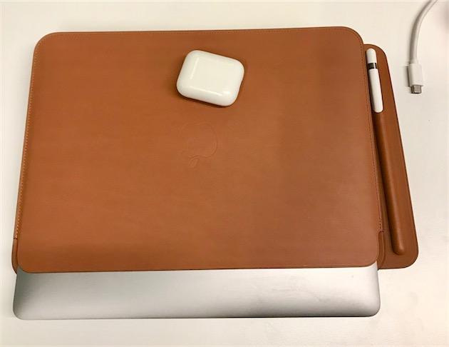 """76c591ab3d Chose amusante à noter : l'encombrement de la housse de l'iPad Pro 10,5""""  est absolument identique à celle du MacBook -"""
