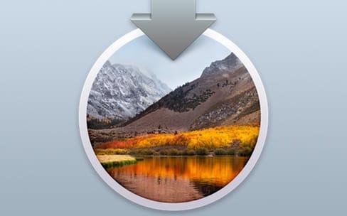 Apple vous invite à installer High Sierra si ce n'est pas encore fait