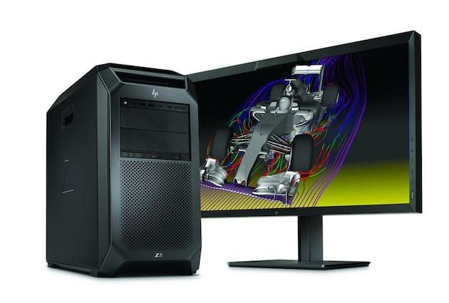 HP Z8. Image HP.