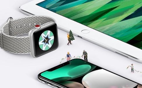 Noël : les retours Apple Store étendus jusqu'au 8janvier