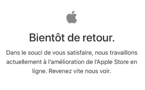 Black Friday : l'Apple Store ferme ses portes [màj]