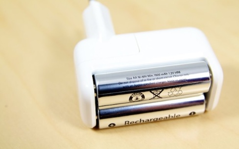 Avis de disparition : le chargeur de piles Apple