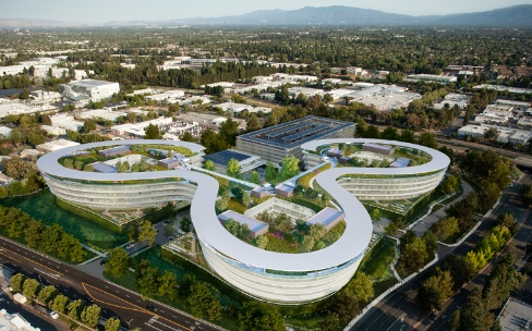L'autre grand campus d'Apple en Californie se finalise