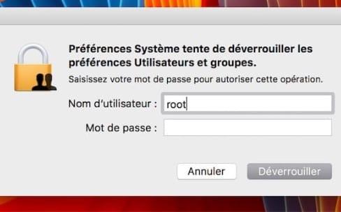 Faille root : un correctif en cas de bug avec le partage de fichiers