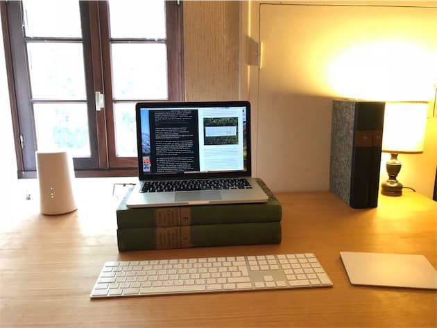 Magic Keyboard avec pavé numérique et Magic Trackpad. Cliquer pour agrandir