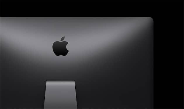 L'iMacPro vu de dos. Cliquer pour agrandir