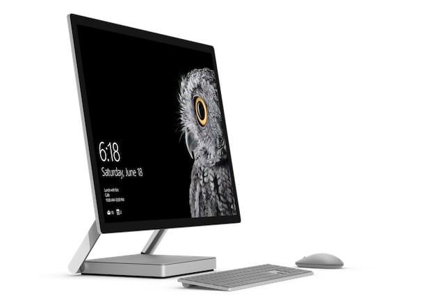 Microsoft Surface Studio. Image Microsoft.