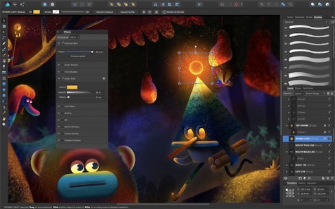Affinity Photo et Designer en promotion à 20%