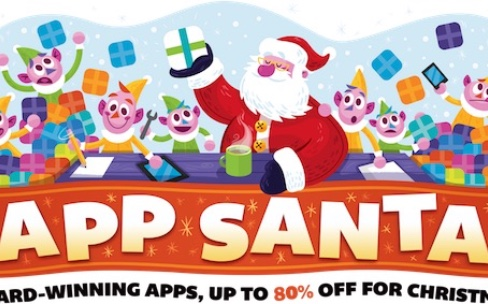 App Santa : réductions sur de bonnes apps et jeux iOSetmacOS