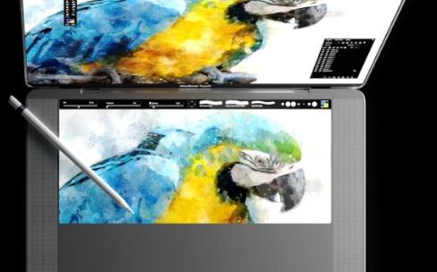 Concept MacBook Touch :une tablette à la place du clavier