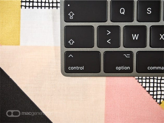 Détail du Magic Keyboard de l'iMac Pro, qui aurait pu s'appeler « Pro Keyboard ».
