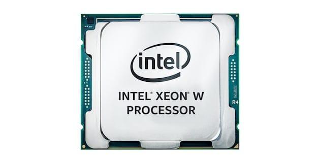 Un processeur Intel Xeon W. Image Intel.
