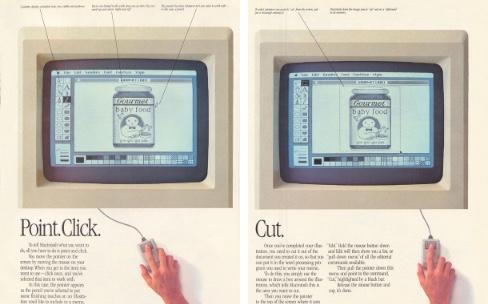 Il y a 30 ans, lorsque l'interface utilisateur du Mac faisait débat