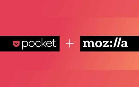 Mozilla achète Pocket, spécialiste de la lecture différée