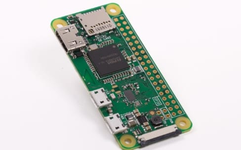 Un Raspberry Pi Zero W avec Bluetooth et Wi-Fi pour 10$