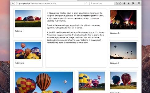 Firefox 52 est le premier navigateur à adopter les grilles CSS