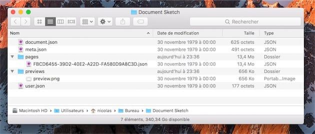 voici quoi correspond un document sketch nouvelle gnration des fichiers json pour dcrire les informations ncessaires page par page