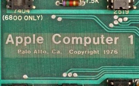 Un Apple-1 aux enchères