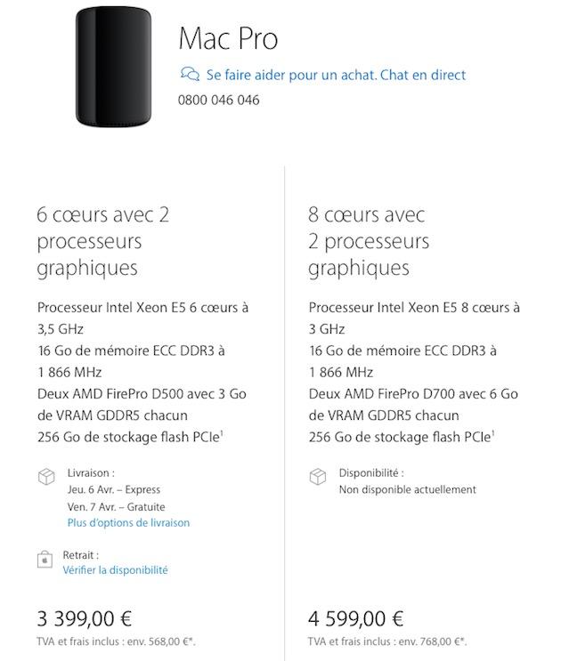 Les Mac Pro Mis A Jour Sont Arrives Sur L Apple Store Macgeneration