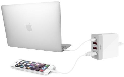 Macally présente un chargeur USB qui recharge aussi les Mac
