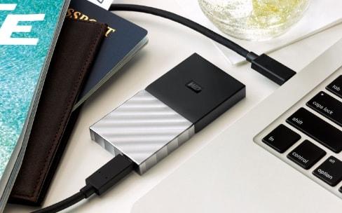 Western Digital présente un SSD externe USB-C