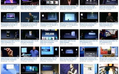 Une chaîne YouTube pleine de keynote Apple disparaît [màj : une autre apparaît]