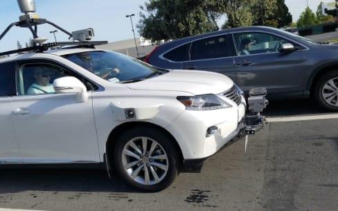 Les voitures Apple sillonnent déjà la Californie