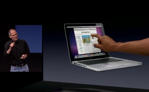 macOS gère mieux les écrans tactiles