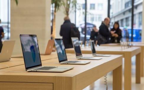 Les ventes de portables Apple sont sur la bonne pente