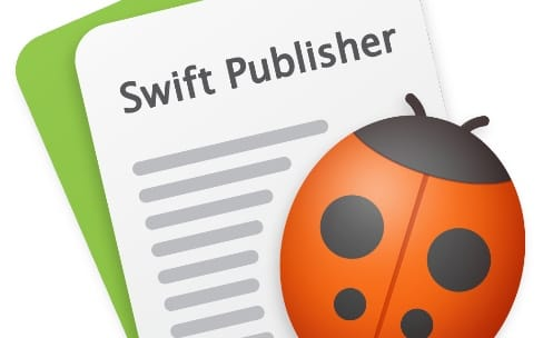 Swift Publisher5 gère deux pages à la fois