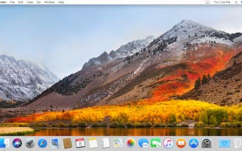 Des problèmes avec macOS High Sierra? Parlez-en sur nos forums!