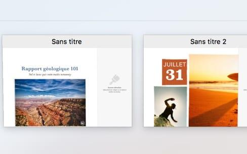 macOS High Sierra: l'aperçu des onglets étendu à toutes les apps