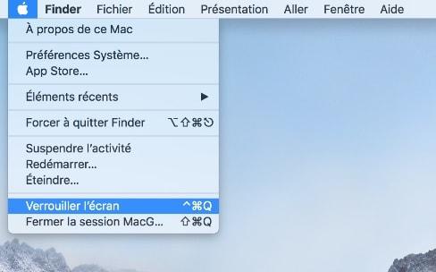 macOS High Sierra verrouille plus facilement son écran